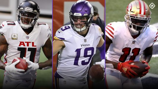 Fantasy Injury Updates: Julio Jones, Adam Thielen, Brandon Aiyuk, more WRs impacting Week 13 waiver wire strategy