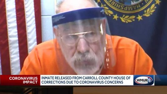 Inmate released over COVID-19 concerns