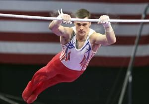 Mikulak leads after first day of US gymnastics championships