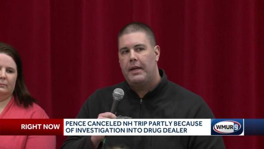 Pence canceled NH trip partly due to investigation into drug dealer
