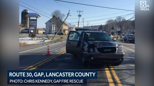 Crash shuts down Route 30 in eastern Lancaster County
