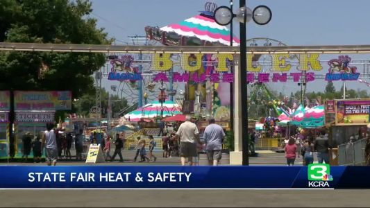 Expect a hot weekend at the California State Fair