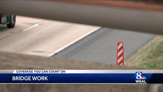 Road work on Route 222 in Lancaster County this weekend