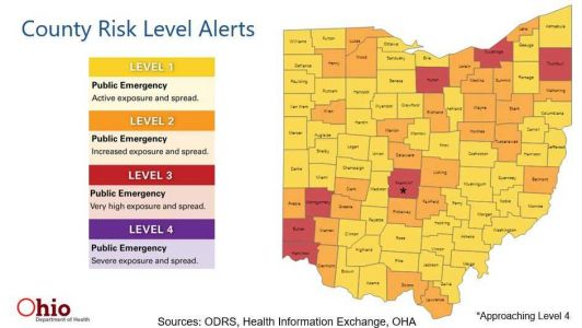 Masks now required in 12 Ohio counties; Hamilton, Butler counties on 'watchlist'