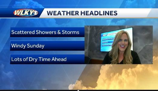 Breezy and Unsettled Weather Expected