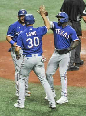 Solak, Culberson drive in 3 each, Rangers top Rays 8-3