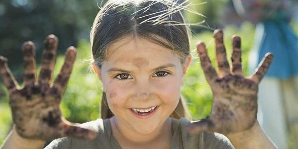 Science says dirt is good for kids