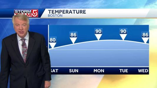 Video: Heat, humidity set to climb this weekend