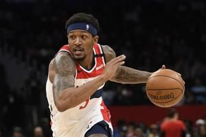 Wizards' Beal, Nets' Dinwiddie to miss rest of NBA season