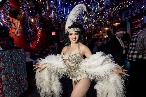 NYC bars with buzzy, holiday vibes - from whimsical to luxe