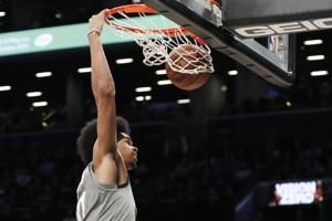 Allen leads Nets to 101-91 victory over Hornets