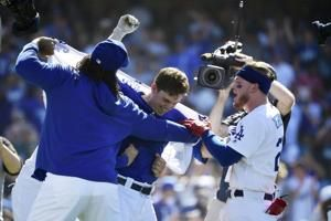 Dodgers with big lead as they chase another NL West title