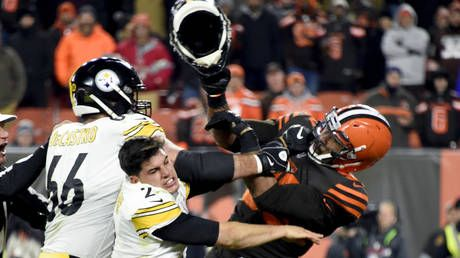 NFL upholds 'indefinite ban' against Myles Garrett over helmet attack as Browns star alleges Mason Rudolph used racial slur
