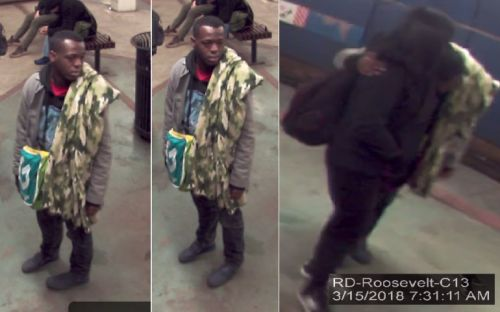 Suspect sought after grabbing girls on Red Line