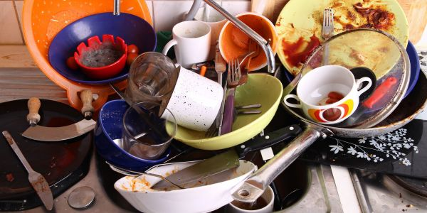 Doing the dishes is the chore most likely to kill a relationship