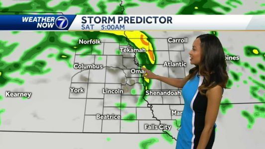 High winds, rain showers and possible thunderstorms in store for Saturday
