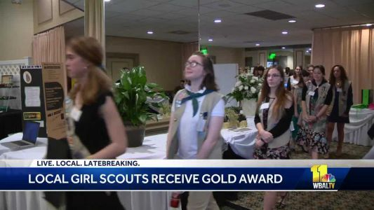 Local Girl Scouts receive Gold Award