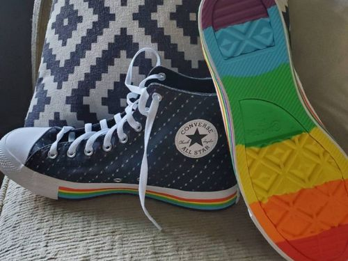Custom Pride Converse; how long will it take to get your shoes?