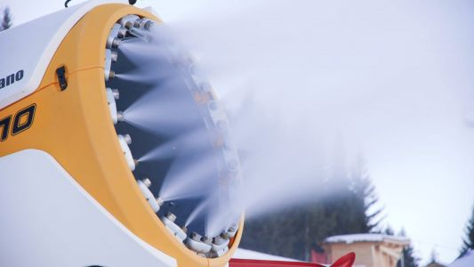 Ski resorts are relying on artificial snow to keep them open through the winter -here's how it works