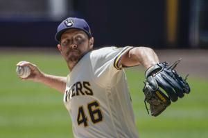Brewers trade reliever Knebel to Dodgers, cut 3 players