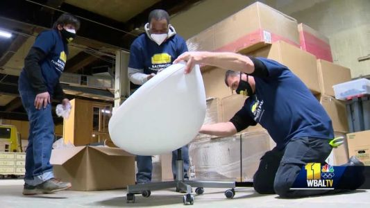 Baltimore Furniture Bank provides assistance to families amid pandemic