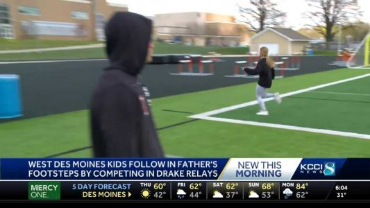 Drake Relays run in West Des Moines family's blood