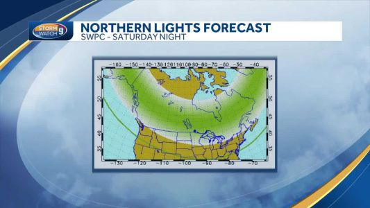 Northern lights over NH? Possibly this weekend!