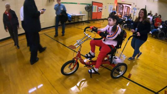 'No words for that': Student with special needs receives life-changing gift