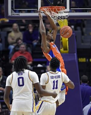 Allen scores 21, Florida downs No. 13 LSU, 82-77