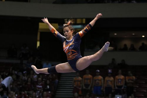 Gymnast who dislocated both knees now just hopes she can walk down the aisle