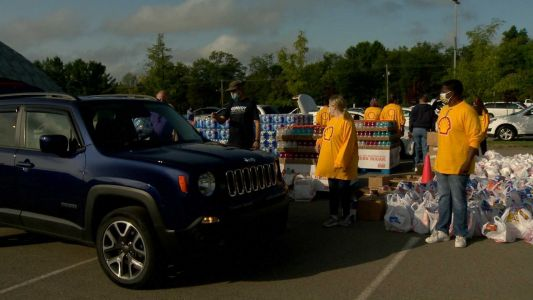 Steelers, Shell and Convoy of Hope team up with food, supplies distribution