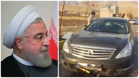 Iranian president points finger at Israel after assassination of top military scientist near Tehran