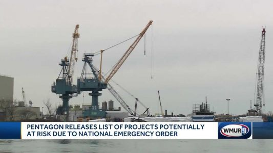 Pentagon: 4 shipyard projects could be cut because of national emergency order