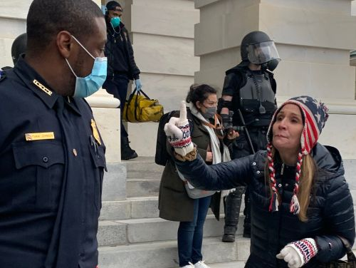 I was a journalist on the ground at Capitol Hill yesterday. Here's what it was actually like watching rioters storm the building right in front of me