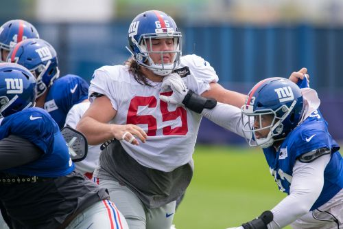 Nick Gates in line to replace Nate Solder on Giants offensive line