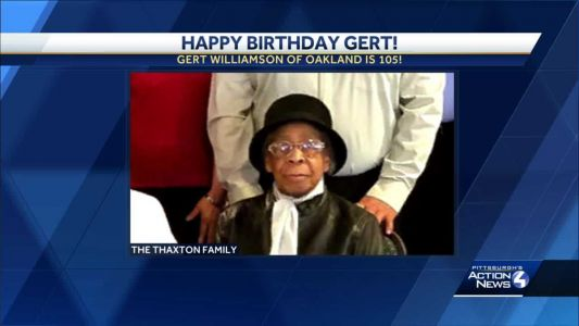 HAPPY BIRTHDAY: Oakland resident turns 105