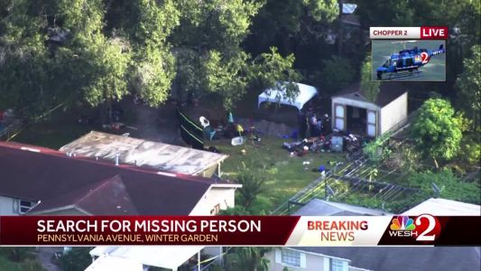 Investigators search backyard of Winter Garden home in missing persons case