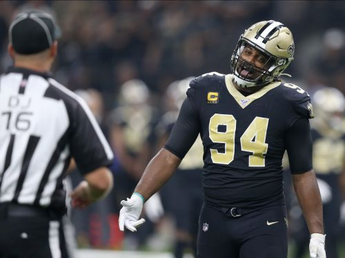 After another blown call went against the Saints, one player blasted the 'Foot Locker' refs