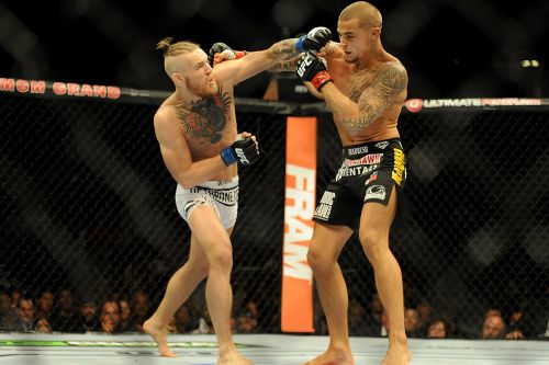 Conor McGregor's top in-cage moments include first Dustin Poirier fight