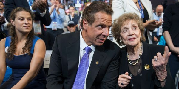 New York Gov. Andrew Cuomo cancels his Thanksgiving plans, but 'don't tell his mom - she doesn't know yet'