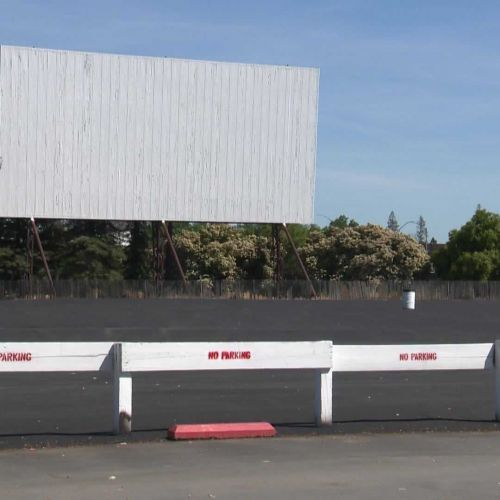 Sacramento's drive-in theater reopens - but with restrictions