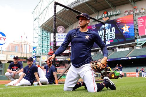 Astros aren't making big deal about potential World Series redemption
