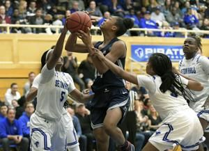 Walker, Griffin lead unbeaten UConn women over Seton Hall