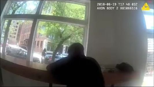Police video, cafe owner set record straight after homeless man asked to leave