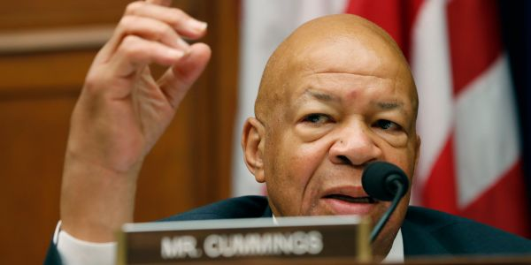 Lawmakers and activists pay tribute to powerful Rep. Elijah Cummings, who suddenly died Thursday at 68