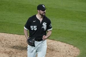 White Sox LHP Rodón loses perfect game on HBP in 9th