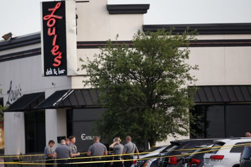 12-year-old restaurant shooting victim in good condition