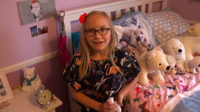 'They're Part Of My Family': Girl, 8, Aims To Help Polar Bears Through Art