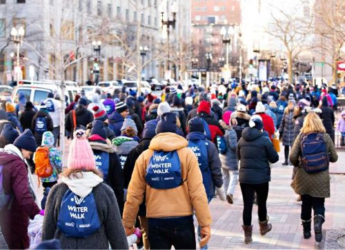 Winter Walk Boston raises awareness, funds to help end homelessness