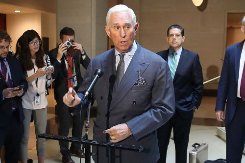Roger Stone pleads the Fifth to Senate inquiry